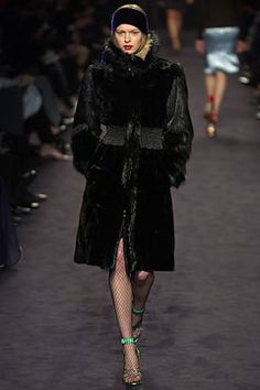 Yves Saint Laurent fall 2003 ready to wear collection.