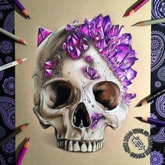 Incredible colored pencil work by British artist Adam Bettley instagram.com/adbettley