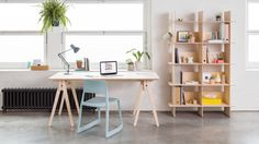 Opendesk launches shelf and desk that can be assembled tool-free