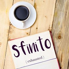 Parola del giorno / Word of the day: Sfinito (exhausted). Il corridore è arrivato sfinito al traguardo. = The runner reached the finish line exhausted. Learn more about this word and see example phrases by visiting our website! #italian #italiano #italianlanguage #italianlessons Italian Grammar, Italian Language, German Language, Japanese Language, Italian Lessons, French Lessons, Spanish Lessons, Spanish Language Learning, Teaching Spanish