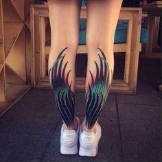 Крылья на голенях