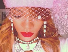 Spotted: Rihanna Gets Wavy In Silver Spoon Attire