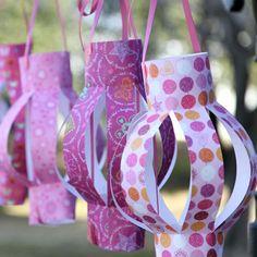 Party Time Paper Lanterns