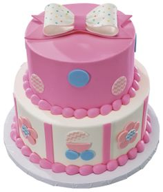 Baby Stacked Cake