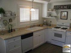Radical Refinish Of Kitchen Cabinets