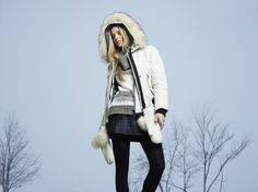 Model Danielle Knudson for Point Zero's Fall/Winter 2014 ad campaign. Find this style on our website at www.pointzero.ca Danielle Knudson, Canadian Winter, Canadian Models, The Most Beautiful Girl, Fall Winter 2014, Zero, Campaign, Winter Jackets, Website