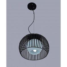 Designerska Lampa Sufitowa Wisząca Jupiter B Czarna – Sklep Lampex - 274 PLN