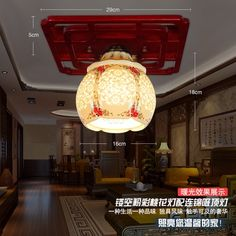 69.56$  Buy here - http://ali6ef.worldwells.pw/go.php?t=32630593979 - Modern Led Ceramic Ceiling Lights For Living Room luminaria teto cristal bamboo Ceiling Lamps For Home Decoration Free shipping 69.56$