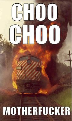 I'm going off the rails on a crazy train! - Imgur