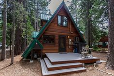 Adorable ~A-~Frame Cabin on the West Shore of Lake Tahoe. Cute, clean, and newly remodeled A-Frame cabin with a 1000 square feet of indoor space plus 2 deck...