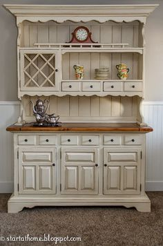 300 best kitchen decor hutches buffets images painted furniture rh pinterest com