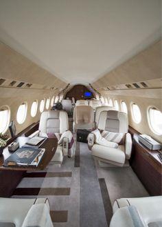 Jets priv s de luxe jets priv s and jets on pinterest - Jet prive de luxe interieur ...