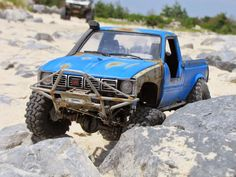 """Featured Ride Spotlight! - 1BadJeepBruiser's """"The Blue Lux"""" - Scale 4x4 R/C Forums"""