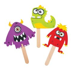 Monster Puppets Craft Kit - OrientalTrading.com, $5 per dozen
