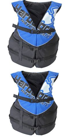 Life Jackets and Preservers 15262: Hardcore Deluxe Adult Life Jacket Pfd Type Iii Coast Guard Ski Vest Blue -> BUY IT NOW ONLY: $37.7 on eBay!