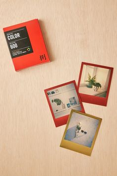 Impossible Lucky 8 Color Polaroid 600 Instant Film