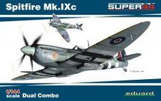 Eduard Spitfire Mk.IXc DUAL COMBO (1/44 ölçek)