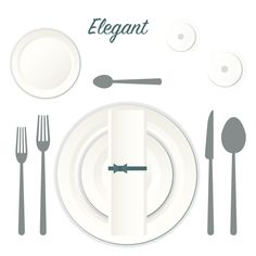 Elegant Place Setting Graphic by Kirkland's