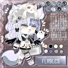 Anime Chibi, Kawaii Anime, Character Drawing, Character Design, Halloween Club, Club Hairstyles, Cute Kawaii Animals, Club Design, Cartoon Art Styles