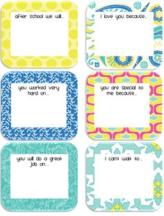 10 Cutest Printable Lunchbox Notes for Kids