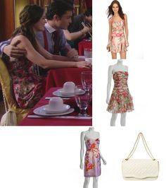 On Blair: Walter Dress; Similar Style, Chanel Bag