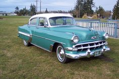 trendy ideas old cars muscle bel air 1954 Chevy Bel Air, Chevrolet Bel Air, Bmw Electric Car, Old American Cars, Gm Car, Vintage Trucks, Vintage Auto, Retro Cars, Disney Cars
