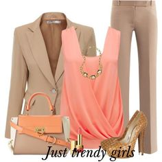 classic outfits for women | Classic outfits for working woman. Not the shoes for work. But I like the suit
