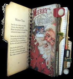 Scrapsoftime... Make a Christmas scrapbook to include something from each year.
