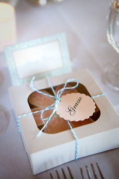 wedding or baby shower pie favors