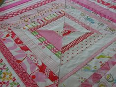 Quilting Square One: pretty in pink complete with simple instructions