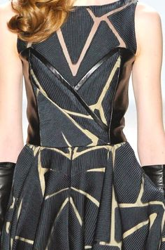 patternprints journal: PRINTS, PATTERNS, TRIMMINGS AND SURFACE EFFECTS FROM NEW YORK FASHION WEEK (A/W 14/15 WOMENSWEAR) / 15