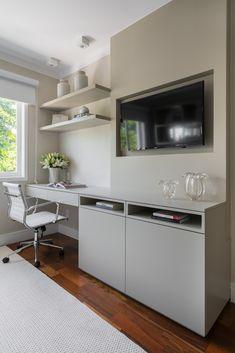 Interior Design Layout, Small House Interior Design, Home Office Design, House Design, Small Room Bedroom, Bedroom Office, Home Bedroom, Bedroom Decor, Diy Rangement