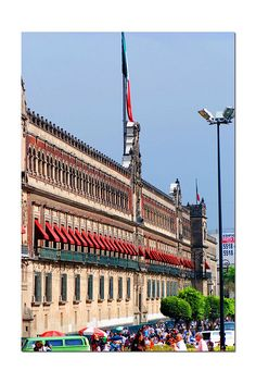 Palacio Nacional, Mexico City (National Palace). This is also a museum and tours are given. Its many murals narrate the history of Mexico.
