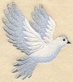 Victorian Christmas Dove (Dove Only)