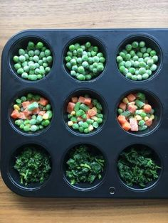 BLWing 'Eggy Muffins' - Baby Led Weaning Ideas