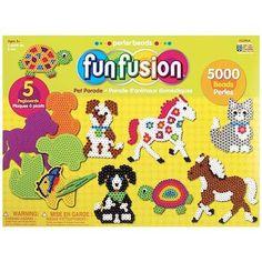 Perler Beads Fun Fusion Fuse Bead Value Activity Kit - 1 ea.