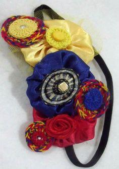 !! Hair Band, Wreaths, Halloween, Decor, Colombian Flag, Flags, Accessories, Decoration, Door Wreaths