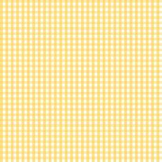 gingham yellow fabric by misstiina on Spoonflower - custom fabric