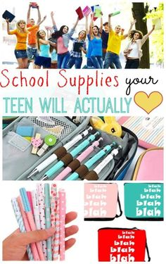 School Supplies Your Teen Will Actually Love | eBay Fun list of quirky supplies your kids will actually love! #spon