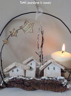Christmas Crafts To Make, Christmas Makes, Homemade Christmas, Christmas Angels, Christmas Projects, Holiday Crafts, Christmas Time, Xmas, Christmas Centerpieces