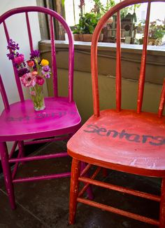 """""""to sit"""" old cafe chairs"""