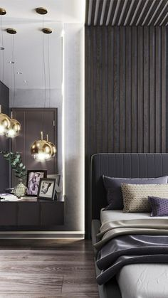 Luxury Bedroom Design, Master Bedroom Interior, Modern Master Bedroom, Bedroom Furniture Design, Home Room Design, Master Bedroom Design, Luxury Interior Design, Contemporary Bedroom, Interior Design Living Room