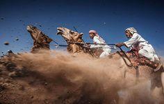 Course de chameauxTroisième prixLa Camel Ardah est une course traditionelle de chameaux à Oman durant laquelle la monture la plus rapide perd la course… L'objectif ? Exposer la beauté des chameaux arabes et les talents de domptage des cavaliers.Catégorie : Scènes extérieures