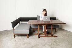 【商品画像】キタニ ローダイニングソファー | おしゃれ家具通販・インテリアショップのリグナ
