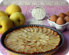 Tarta de manzana | El blog sin azúcar