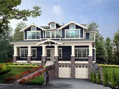 Craftsman House Plan 87565