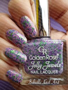 Golden Rose Jolly Jewels In 105