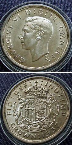 George VI 1937 crown