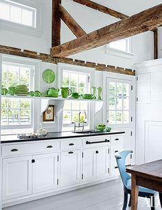 Christopher Spitzmiller's Kitchen at Clove Brook Farm