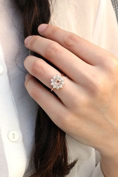 The Juliet Vintage-Inspired Engagement Ring by Heidi Gibson